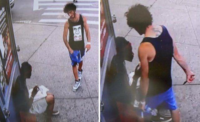 Lo mató mientras desayunaba en una esquina de Brooklyn.