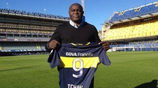 El camerunés Alphonse Tchami volvió a la Bombonera