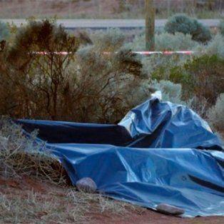 Hallaron el cadáver de una embarazada quemada con cubiertas