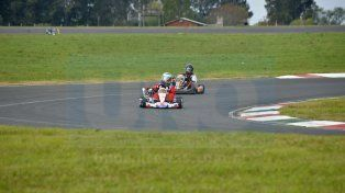 Fue en el marco de la fecha siete del Karting Río Paraná.
