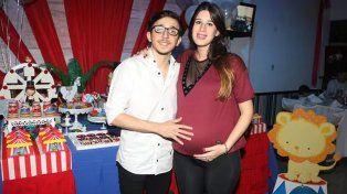 Nació Bautista, el hijo de Rodrigo Noya y Sofía Sorrenti