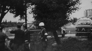 Inseguridad. La Policía en la calle, una viñeta urbana de 1939.