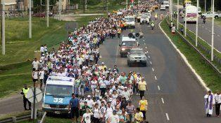 Fecha. La procesión será durante los días 13 y 14 de octubre.