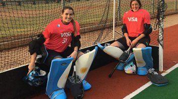 La arquera de Paraná viene de disputar la Liga Mundial en Sudáfrica. Pelea el puesto con Belen Succi.