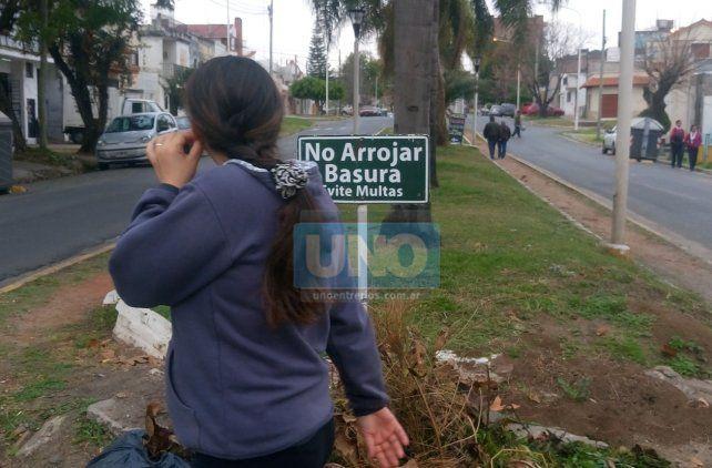 Los vecinos circulan todos los días por el paseo. Foto UNO.