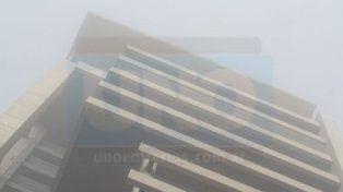 Piden circular con precaución por la presencia de bancos de niebla