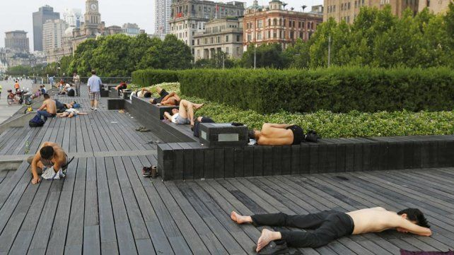 China vive su peor ola de calor en 145 años. Foto: AFP