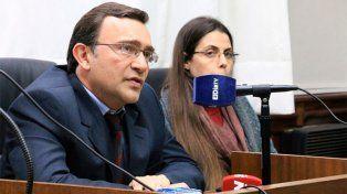 El fiscal coordiandor Lisandro Beherán y la fiscal Martina Cedrés