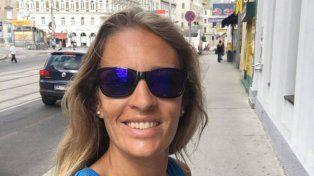 Optimista. Ana Gallay se mostró feliz en las redes sociales antes de comenzar a jugar en la cita ecuménica.