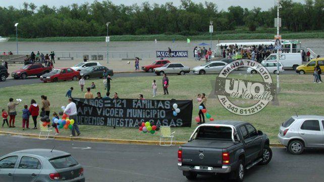 Los preadjudicatarios han realizado numerosas protestas a lo largo de estos años.