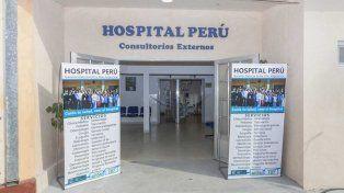 Nosocomio. El Perú es de complejidad 3, en una escala de 8.