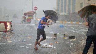Estambul sufrió una destructora tormenta de granizo