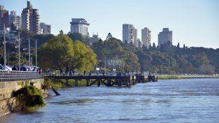 La vista de Paraná que impacta a los turistas. Foto UNO archivo Mateo Oviedo.