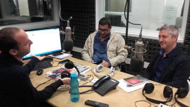 En LT 8 de Rosario. De los Santos y Lascano encararon una investigación rigurosa.
