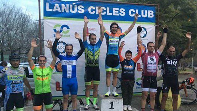 Gaday en lo más alto del podio de la competencia que se desarrolló en el sur bonaerense.