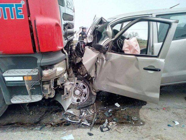 Choque frontal y muerte en la ruta 26: murió una joven de 20 años