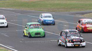 Los Fiat 600 fueron nuevamente protagonistas en la fecha de las categorías provinciales en Paraná.