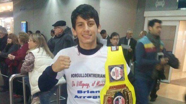 Brian Arregui, el entrerriano que se consagró campeón mundial juvenil en Estados Unidos