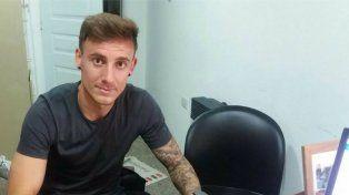 ES ROJINEGRO. Rodrigo Arciero estampó su firma y es jugador de Patronato por una temporada. Juego como lateral.