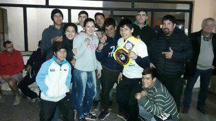 El campeón Brian Arregui llegó a Villaguay y recibió el cariño de la gente