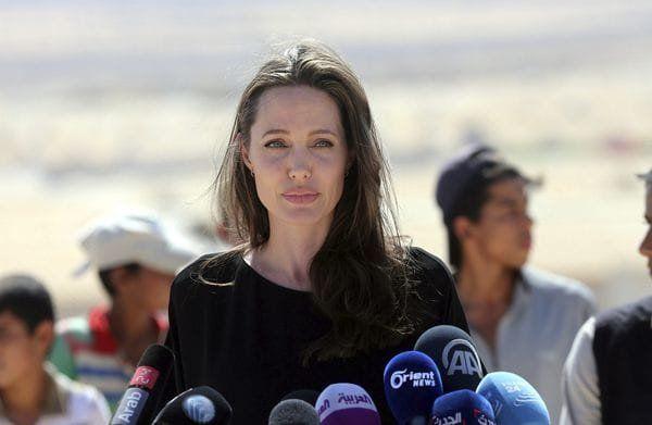 Angelina Jolie fue acusada de crueldad infantil durante el casting de su última película