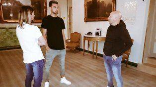 Sampaoli se reunió con Pastore en París