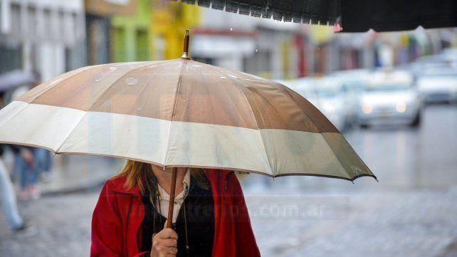 Jornada con lluvias, tormentas y una máxima de 15 grados