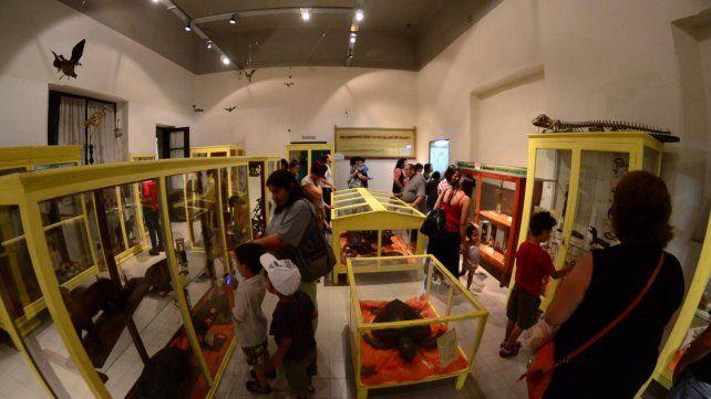 Patrimonio. Los bienes culturales de la institución están al alcance de la familia entrerriana.
