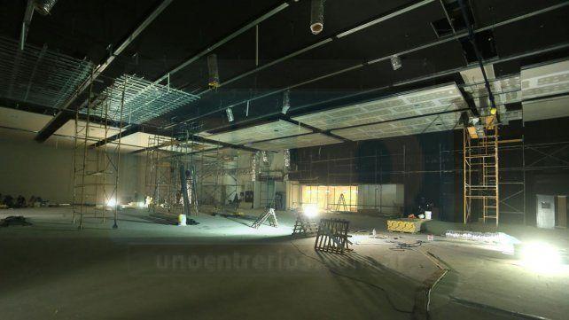 El salón principal tendrá capacidad para 1.600 personas sentadas.