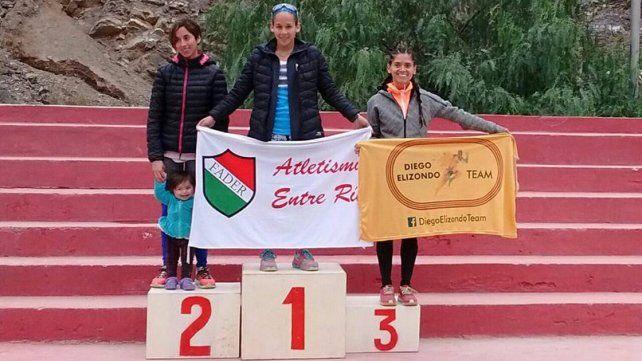 La atleta María Luz Tesuri se trepó a lo más alto del podio y de este modo es la mejor de esta disciplina en la República Argentina.
