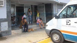 El herido fue trasladado al centro de salud Doctor Ramón Carrillo