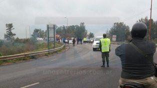 Trabajadores del frigorífico Equino de Gualeguay levantaron el corte de ruta