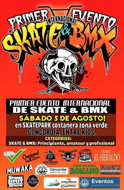 Concordia se prepara para el primer evento de skate y bmx