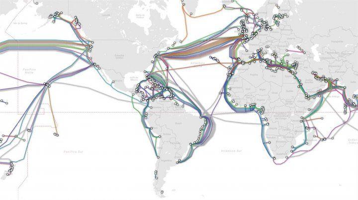 ¿De dónde viene internet?