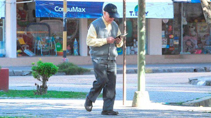 Rivas paseando por Gualeguaychú