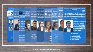 ¿Quiénes son los candidatos?