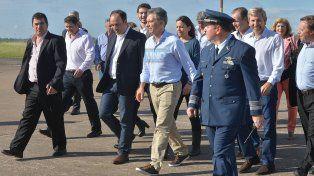 El presidente Macri en Entre Ríos. Foto Archivo UNO Juan Manuel Hernández.