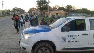 Tras los disturbios, vino la calma en el barrio Capibá de Paraná