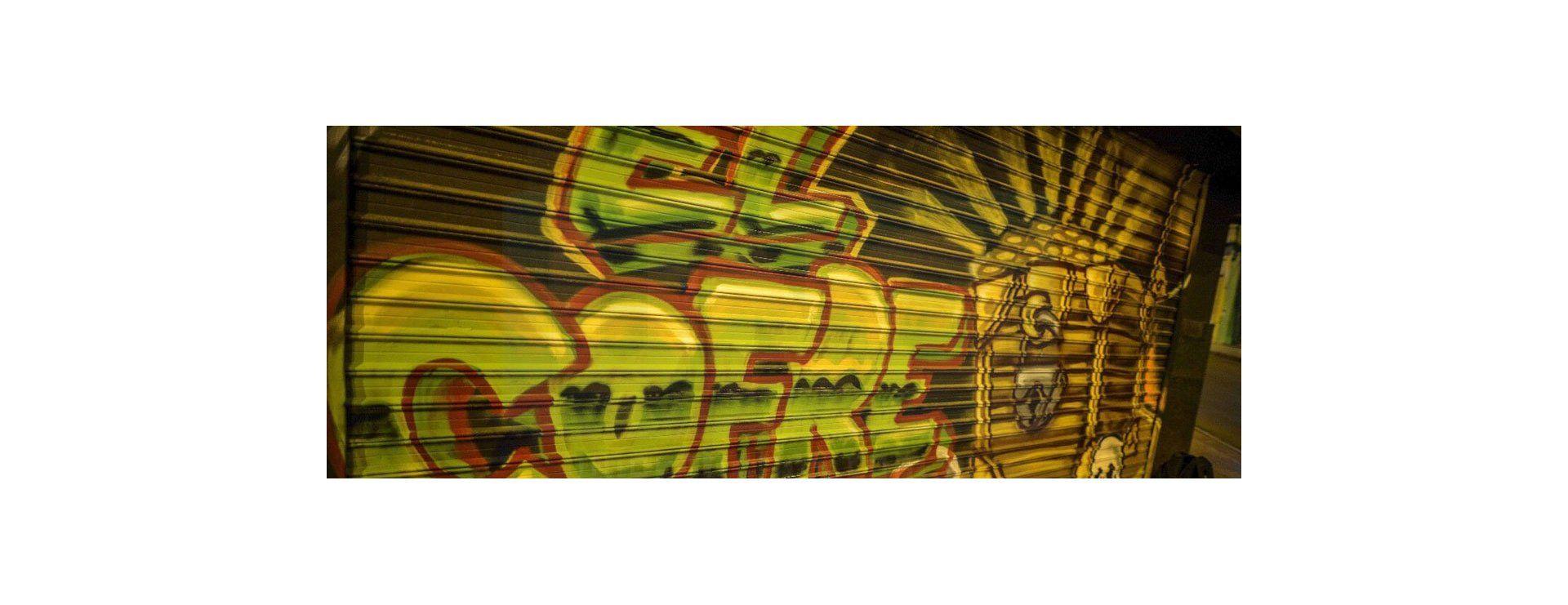 Los graffitis de Facundo Sánchez