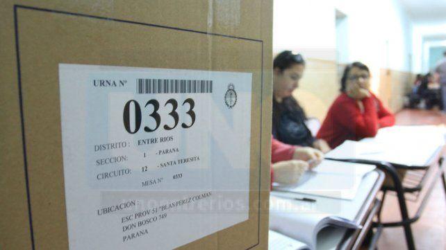 Los empleados públicos que sean autoridad de mesa podrán no concurrir a sus trabajos el lunes 14