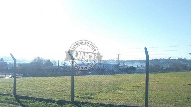 Paraná: Se produjo un incendio en un loteo ubicado en la zona de Base Aérea