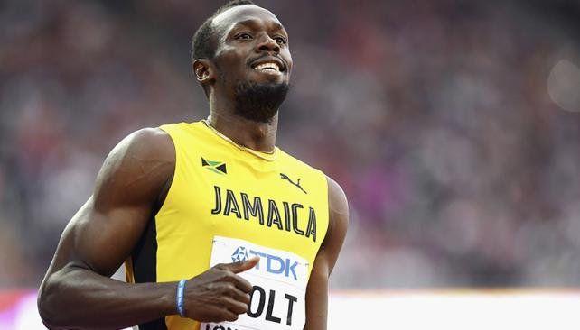 Bolt se metió en la final de los 100 metros