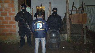 Desarticularon una banda narco que operaba en la Costa del Uruguay