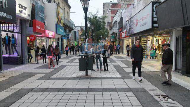El hombre robó un celular en un comercio de peatonal San Martín