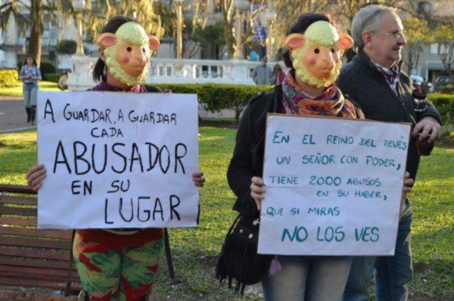 Gualeguaychú se movilizó para apoyar a las víctimas de Gustavo Rivas
