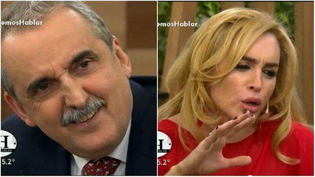 Fátima Florez imitó a Cristina e hizo reír a Guillermo Moreno