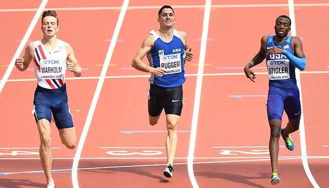 Ruggeri, récord nacional y pase a las semifinales