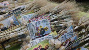 San Cayetano: miles de fieles pidieron pan y trabajo en Paraná