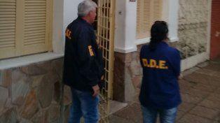 Investigación. Delitos Económicos llevó adelante los allanamientos hoy a la tarde. Foto: Gabriel Miño