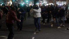 incidentes frente al congreso en la protesta por la desaparicion de santiago maldonado